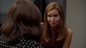 Super Tuesday- Karen tells Selina that she is Andrew's attorney- Veep, HBO