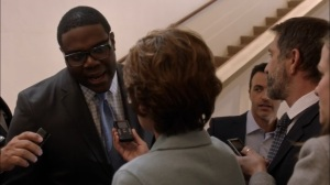 Super Tuesday- Richard tells the press about Sidney Purcell's offers- Veep, HBO
