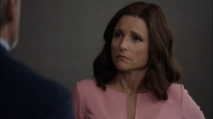 Super Tuesday- Selina learns of Andrew's apparent death- Veep, HBO