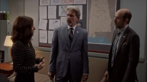 Super Tuesday- Selina speaks with Leon and Kent about election interference- Veep, HBO