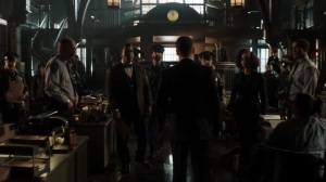 The Beginning- GCPD officers listen to Jim talk about Harvey- Gotham, Fox