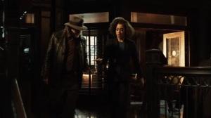 The Beginning- Harper and Harvey go over Riddler's recent escape- Gotham, Fox