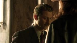 The Beginning- Jim Gordon with his mustache- Gotham, Fox