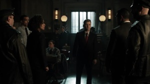 The Beginning- Jim speaks with the GCPD officers about Harvey's innocence- Gotham, Fox