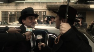 The Beginning- Penguin speaks with the press- Gotham, Fox