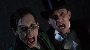 The Beginning- Riddler and Penguin see Batman heading towards them- Gotham, Fox
