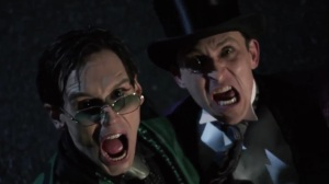 The Beginning- Riddler and Penguin see Batman heading towards them- Gotham, Fox