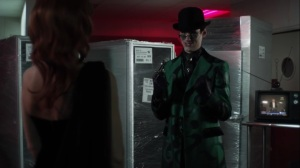 The Beginning- Riddler talks with Barbara- Gotham, Fox