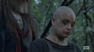 The Storm- Alpha admits to Beta that she has made mistakes- AMC, The Walking Dead