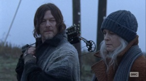 The Storm- Carol and Daryl talk about Henry and Lydia- AMC, The Walking Dead