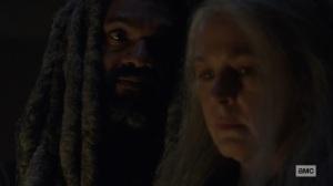 The Storm- Carol tells Ezekiel that she's going to Alexandria- AMC, The Walking Dead