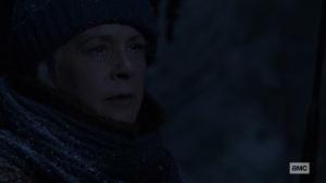 The Storm- Carol tells Lydia that she's not weak- AMC, The Walking Dead