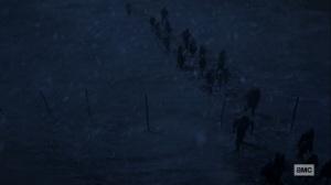 The Storm- Crossing Alpha's border- AMC, The Walking Dead