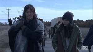 The Storm- Daryl sticks up for Lydia- AMC, The Walking Dead