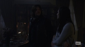 The Storm- Daryl tells Lydia that they're headed to Alexandria next- AMC, The Walking Dead