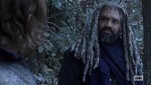 The Storm- Ezekiel speaks with Daryl- AMC, The Walking Dead