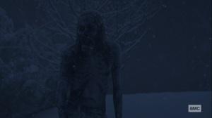 The Storm- Frozen walker- AMC, The Walking Dead