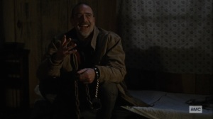 The Storm- Negan out of his cell- AMC, The Walking Dead