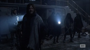 The Storm- Staying at the Sanctuary- AMC, The Walking Dead
