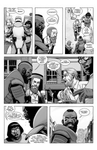 The Walking Dead #190- Eugene and Stephanie speak with Rick and Mercer