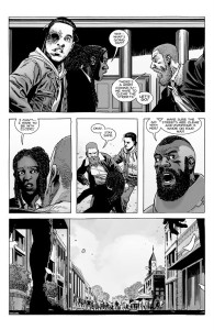 The Walking Dead #190- Michonne and Carl meet up with Rick