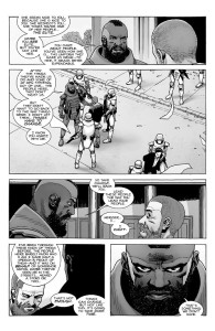 The Walking Dead #190- Rick tells Mercer that he can't lead the Commonwealth