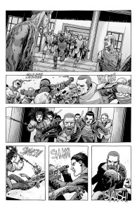 The Walking Dead #190- Thinning out the roamer herd