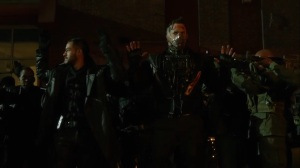 They Did What- Bane and army soldiers surrender- Gotham, Fox