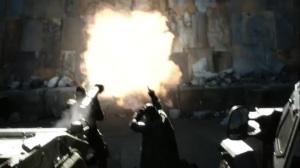 They Did What- Bane blows a hole in the barricade- Gotham, Fox