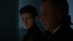 They Did What- Bruce and Alfred at the airport- Gotham, Fox
