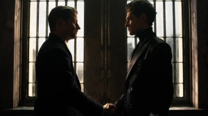 They Did What- Bruce tells Jim that he's leaving Gotham City- Gotham, Fox