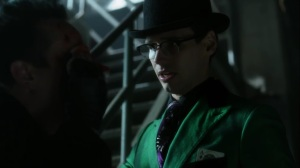 They Did What- Ed looks at Oswald's injury- Gotham, FX