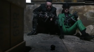 They Did What- Grenade lands in front of Oswald and Ed- Gotham, Fox