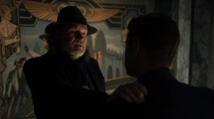 They Did What- Harvey congratulates Jim on his promotion- Gotham, Fox