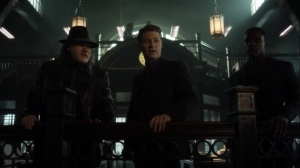 They Did What- Harvey, Jim, and Lucius discuss the refugees- Gotham, Fox