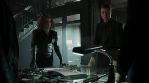 They Did What- Jim, Harvey, and Selina go over a battle plan- Gotham, Fox