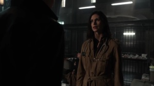 They Did What- Leslie speaks with Bruce at the precinct- Gotham, Fox