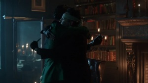 They Did What- Oswald and Ed make a promise, with knives- Gotham, Fox