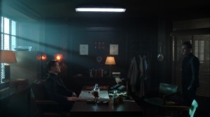 They Did What- Oswald speaks with Jim at the precinct- Gotham, Fox