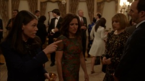 Oslo- Catherine and Marjorie talk about their wedding with Selina and Gary- Veep, HBO