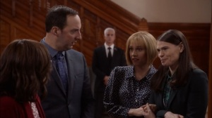 Oslo- Catherine tells Selina that she wants to get married at the embassy- Veep, HBO