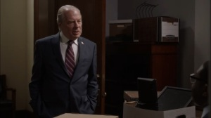 Oslo- Governor Valentine, played by Michael McKean, is not a fan of Richard- Veep, HBO