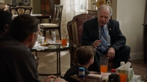 Oslo- Governor Valentine tries to woo Jonah- Veep, HBO