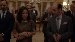 Oslo- Leon talks with Selina about preparing her speech- Veep, HBO