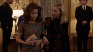 Oslo- Minna Häkkinen returns, tells Selina about her lovers- Veep, HBO