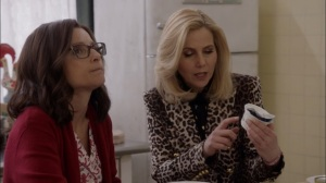 Oslo- Minna talks with Selina about the embassy rules- Veep, HBO