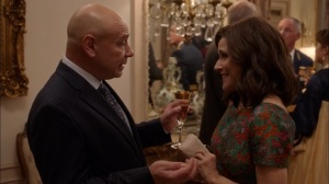 Oslo- Murman tells Selina that the Russians made him President again- Veep, HBO