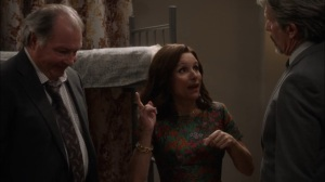 Oslo- Selina wants Kent and Ben to get in touch with the American ambassador to Norway- Veep, HBO