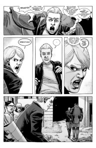 The Walking Dead #191- Pamela is arrested, tells Sebastian to keep quiet