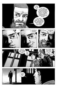 The Walking Dead #191- Rick has a heart-to-heart talk with Carl